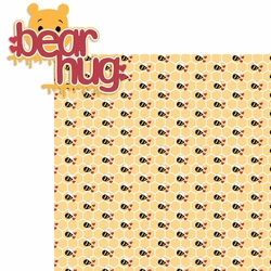 100 Acre: Bear Hug 2 Piece Laser Die Cut Kit