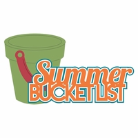 100 Degrees: Summer Bucket List Laser Die Cut