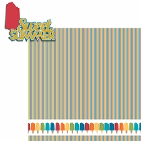 100 Degrees: Sweet Summer 2 Piece Laser Die Cut Kit