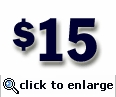 $15 Gift Certificate (sent electronically)