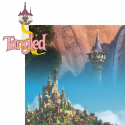 2SYT A Bunch of Character: Tangled 2 Piece Laser Die Cut Kit