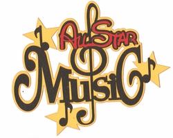 A Magical Stay: All Star Music Laser Die Cut