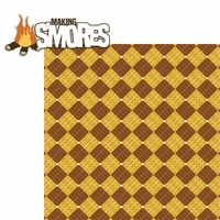 A Wild Adventure: Making S'mores 2 Piece Laser Die Cut Kit