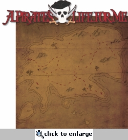 1SYT Adventure Land: A Pirate's Life For Me  Laser 2 Piece Die Cut Kit