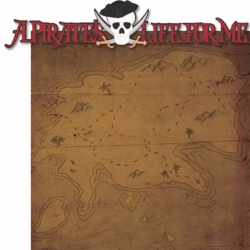 Adventure Land: A Pirate's Life For Me  Laser 2 Piece Die Cut Kit