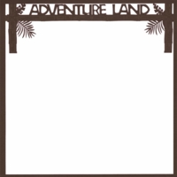 Adventure Land: Adventure Land 12 x 12 Laser Die Cut