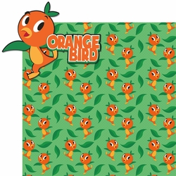 Adventure Land: Orange Bird 2 Piece Laser Die Cut Kit