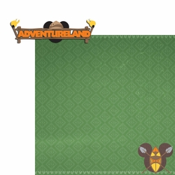 Adventureland: Adventure 2 Piece Laser Die Cut Kit