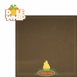 Adventureland: Dole Whip 2 Piece Laser Die Cut Kit