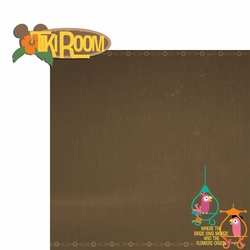 Adventureland: Tiki Room 2 Piece Laser Die Cut Kit