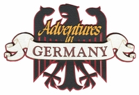 Adventures in Germany Laser Die Cut