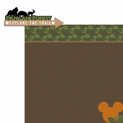 Africa: Forest Trail 2 Piece Laser Die Cut Kit