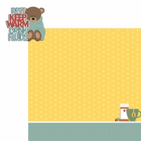 Ah choo: Keep Warm 2 Piece Laser Die Cut Kit