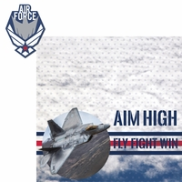 Air Force Scrapbooking