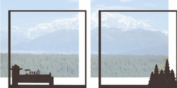 1SYT Alaska: Denali Double 12 x 12 Overlay Quick Page Laser Die Cut