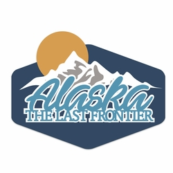 Alaska: The last Frontier Laser Die Cut