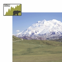 Alaskan Adventure: Denali 2 Piece Laser Die Cut Kit