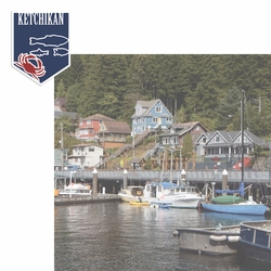 Alaskan Adventure: Ketchikan 2 Piece Laser Die Cut Kit