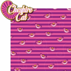 Alice In Wonderland: Cheshire Cat 2 Piece Laser Die Cut Kit