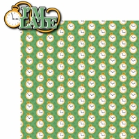 Alice In Wonderland: Important Date 2 Piece Laser Die Cut Kit