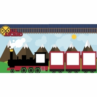 All Aboard Train 2 Page Layout Kit