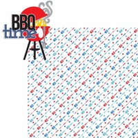 All American: BBQ Time 2 Piece Laser Die Cut Kit