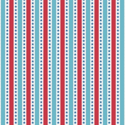 All American: Stars And Stripes 12 x 12 Paper