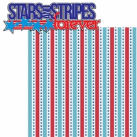 All American: Stars And Stripes 2 Piece Laser Die Cut Kit