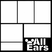 All Ears 12 x 12 Overlay Laser Die Cut