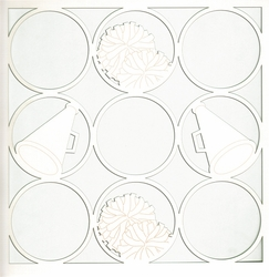 All Star: Cheer Circles 12 x 12 Overlay Laser Die Cut