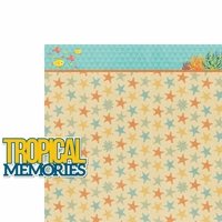 Aloha Beach: Tropical Memories 2 Piece Laser Die Cut Kit