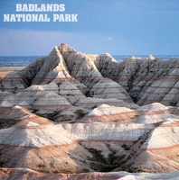 America Land: Badlands 12 x 12 Paper