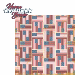 2SYT Americana: Home of the Brave 2 Piece Laser Die Cut Kit