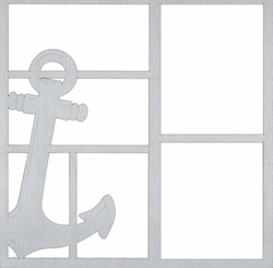 Anchor 12 x 12 Overlay Laser Die Cut