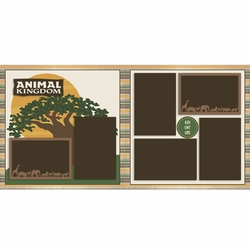 Animal Kingdom 2 Page Layout Kit