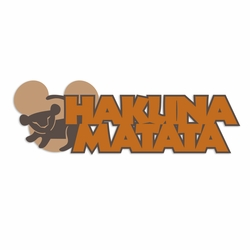 Animal Kingdom: Hakuna Matata Laser Die Cut