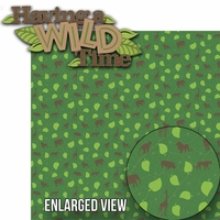 Animal Kingdom: Having A Wild Time Laser Die Cut Kit
