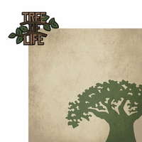 Animal Kingdom: Tree Life 2 Piece Laser Die Cut Kit