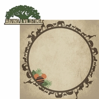 Animal Kingdom: Wild Time 2 Piece Laser Die Cut Kit