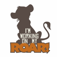 Animal Kingdom: Working on Roar Laser Die Cut