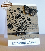 Antique Engravings by Hero Arts Layout # 1-<font color=red><b>NOT FOR SALE</b></font>