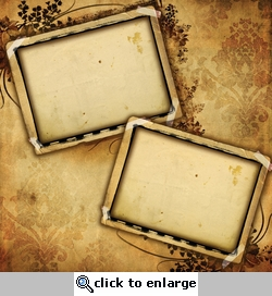 Antique Photo Frames 12 x 12 Paper