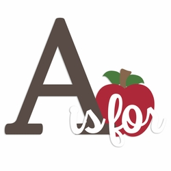Apple Pie: A is for Laser Die Cut