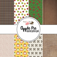 Apple Pie Assorted 12 x 12 Paper Pack