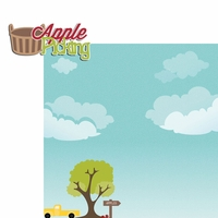 Apple Spice: Apple Picking 2 Piece Laser Die Cut Kit