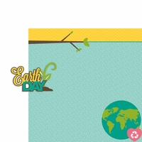 April: Earth Day 2 Piece Laser Die Cut Kit