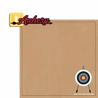 Archery: Archery 2 Piece Laser Die Cut Kit