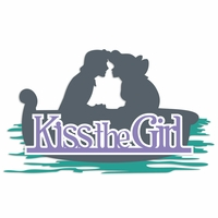 Ariel: Kiss the Girl Laser Die Cut