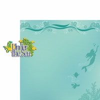 Ariel: Under the Sea 2 Piece Laser Die Cut Kit