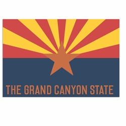 Arizona: Canyon State Laser Die Cut